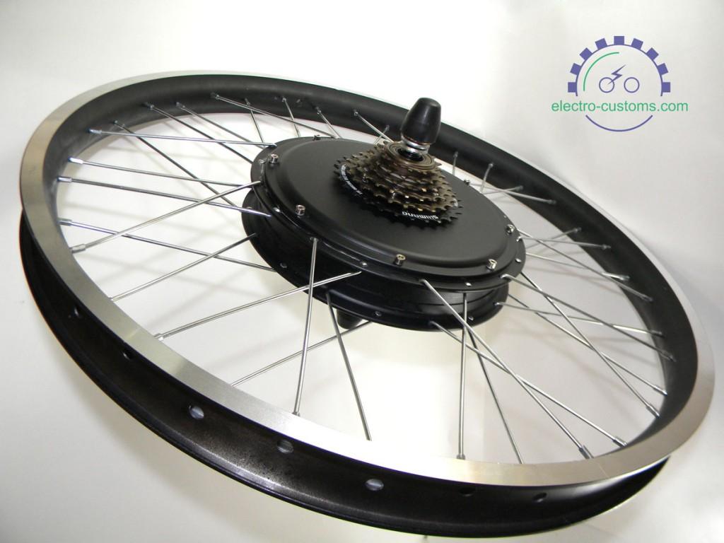 мотор колесо 1500вт купить электровелосипед своими руками