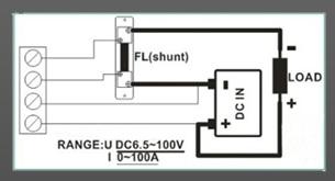 Ваттметр электровелосипеда 100В 100А