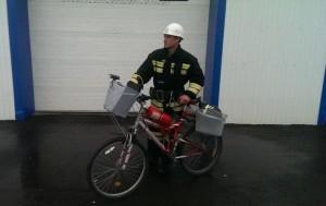 электровелосипед для пожарных