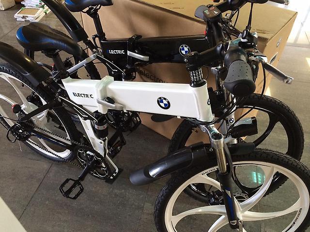 Электровелосипед BMW