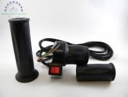 ручка газа электровелосипеда правая с кнопкой