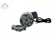 Фара светодиодная для электровелосипеда 12-85V 20W 4Led