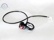 Кнопка на руль электровелосипеда c фиксацией