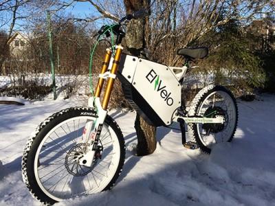 Электровелосипед El-Velo E-Kross Power