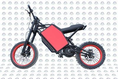Electro-Customs E-Kross Pozitiff MD — Мощный электрический велосипед с цепным приводом и